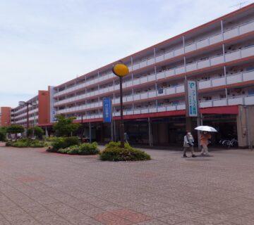 NPOかたくり がある中央商店街です。