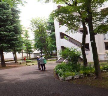 昭和感が漂う「古き良き団地」でしたが。