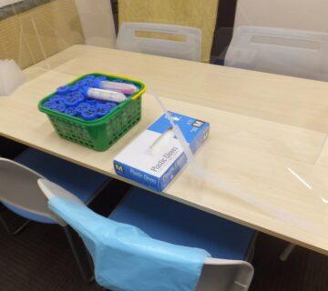 武蔵村山市の令和3年度介護保険施設等感染防止対策推進事業により3度目のPCR検査をご利用者・職員を対象に9/27・28に37人で実施しました。
