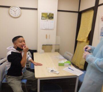 新型コロナワクチン接種については、ご利用者・職員含めて9割の方が完了しています。